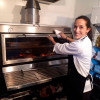 Piracold system means less heat, and less heat means less stress for the chef.