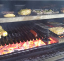 Half Grills will allow you to cook different food at the same level. PIRA charcoal oven always leading innovation.