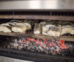 PIRA charcoal ovens can also cook fish, rice, vegetables, seafood ...