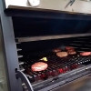Grooved grills also in the PIRA 70 XL LUX charcoal ovens.