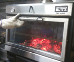 PIRA 70 XL Lux charcoal oven, spectacularity in the kitchen.