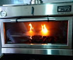 PIRA charcoal oven introduces spectacularity in the kitchen.