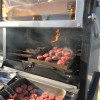 Pira charcoal Oven 90 ED also with half grills and grooved grills for delicate food