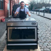 Feeling the power of a PIRA 90 ED charcoal Oven