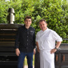 Chef Martin Berasategui, with 10 Michelin stars, one of the clients of PIRA charcoal ovens.