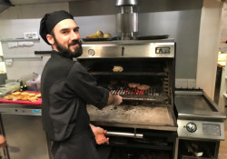 A Pira 90 Sd oven at the Ginger Restaurant in Rome